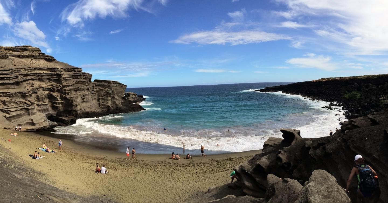 hawaii, beach, secluded beach, rocks, ocean, sand