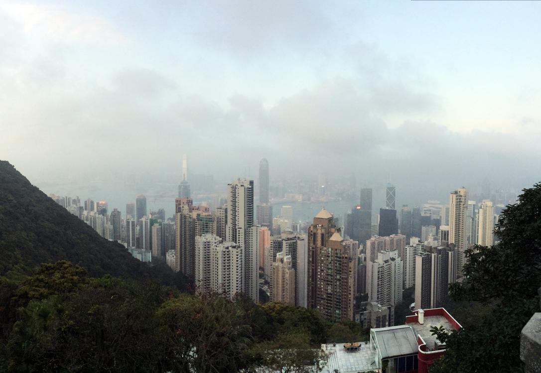 Victoria Peak, Hong Kong, Views, Cityscape, City, Urban